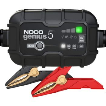 8. NOCO GENIUS5, 5-Amp Fully-Automatic Smart Charger