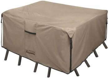 8. ULTCOVER Square Patio Heavy Duty Table Cover