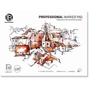 9. Bachmore Bleedproof Marker Paper Pad