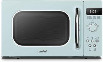 9. COMFEE' AM720C2RA-G Retro Style Countertop Microwave Oven