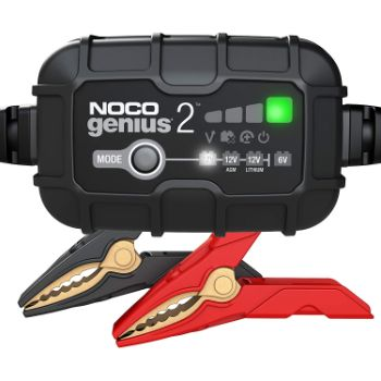 9. NOCO GENIUS2, 2-Amp Fully-Automatic Smart Charger
