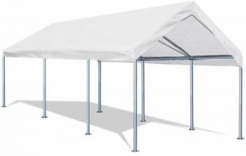 9. Outsunny 10' x 20' Heavy Duty Temporary Outdoor Carport