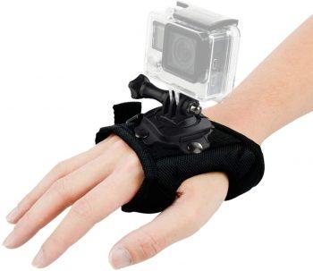 #4. Wrist Strap Mount 360 Degree