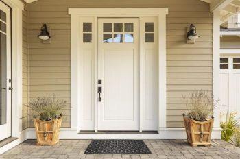 1. DII Indoor Outdoor Rubber Welcome Doormat