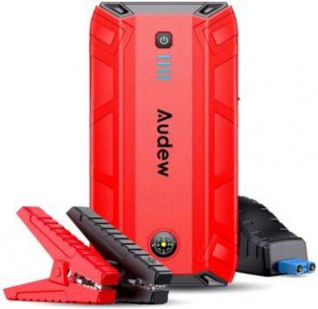 2. Audew 18000mAh Portable Jump Starter