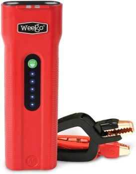 9. WEEGO 66 Jump Starting Power Pack