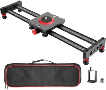 1. Neewer Camera Slider Carbon Fiber Dolly Rail