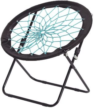 10. CampLand Bungee Dish Chair Bunjo Game Chair