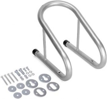 10. YITAMOTOR Chrome Motorcycle Wheel Chock