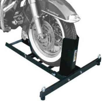 2. MaxxHaul 70271 Motorcycle Wheel Chock Stand