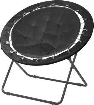 2. Urban Shop Bungee Saucer Chair