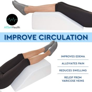 3. All Sett Health Leg Elevation Pillow
