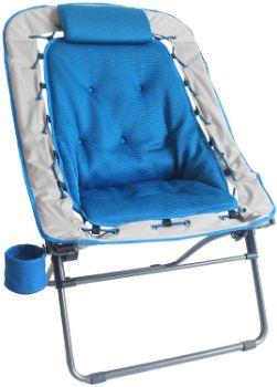 4. Foldable Rectangular Air Mesh Bungee Chair