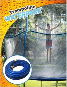 5. Trampoline Waterpark Heavy Duty Sprinkler Hose