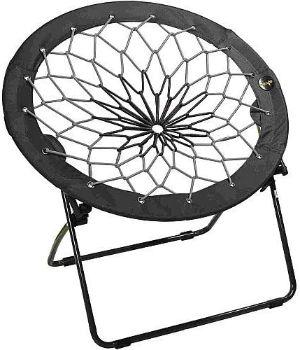 6. Bunjo Bungee Chair Black & Gray