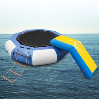 8. Popsport Inflatable Water Trampoline