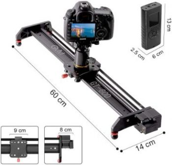 9. GVM Motorized Camera Slider