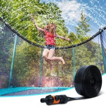 9. Ligttle Trampoline Sprinkler for Kids