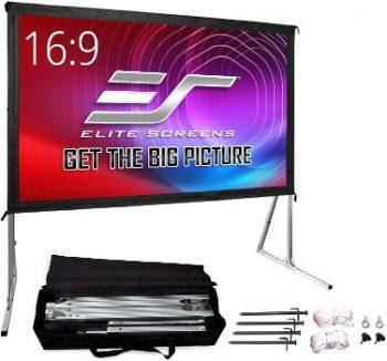 10. Elite Screens Yard Master 2, 120-inch Projector Screen