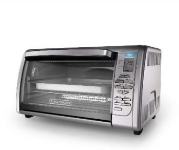 4. BLACK+DECKER CTO6335S Convection Toaster Oven