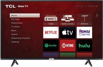 5. TCL 4K Smart LED TV, (43S435)