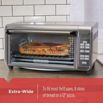7. Black+Decker TO3290XSBD Toaster Oven