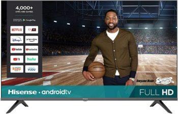 9. Hisense 43-Inch 43H5500G Full HD Smart Android TV