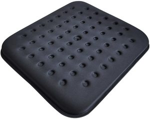 3. Tektrum Thick Orthopedic Cool Gel Seat Cushion with Cooling Vents for Wheelchair