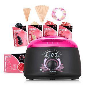 5 Home Wax Kit Electric Wax Warmer