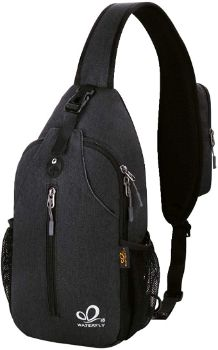 3. Waterfly Crossbody Sling Backpack