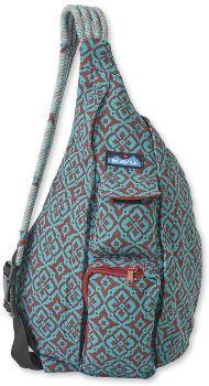 6. KAVU Original Rope Bag Cotton Crossbody Sling