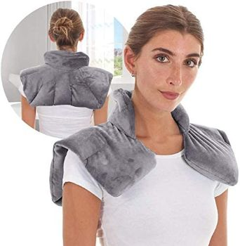 6. Microwavable Heating Pad for Neck and Shoulders