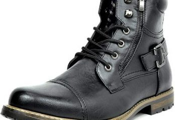 7. Bruno Marc Men's Military Motorcycle Combat Military Boots