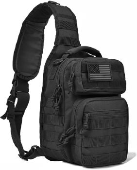 7. REEBOW GEAR Tactical Sling Bag