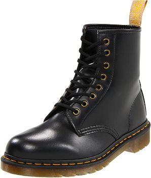 8. Dr. Martens Vegan 1460 Smooth Black Combat Boot