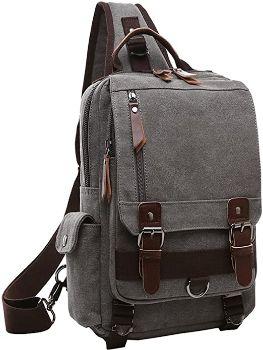 9. Mygreen Canvas Cross Body Messenger Bag