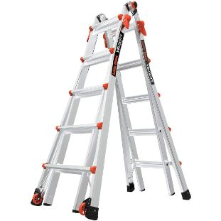 1. Little Giant Ladders, 22 Ft, Multi-Position Ladder