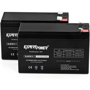 4. ExpertPower Standard 12V 7AH Rechargeable SLA Battery