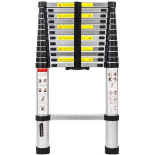 4. LUISLADDERS Aluminum Telescopic Extension Ladder