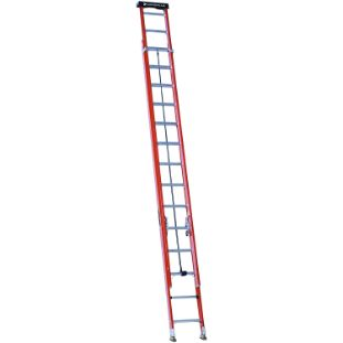 8. Louisville Ladder 28 ft Fiberglass Extension Ladder