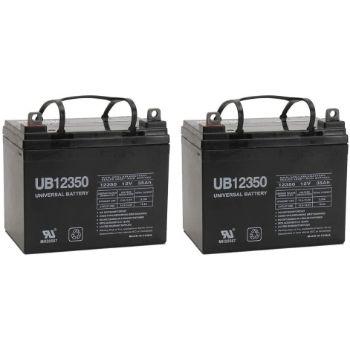 9. 12V, 35AH, Battery, Golden Technolog